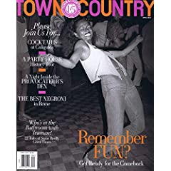TOWN & COUNTRY 最新号 サムネイル
