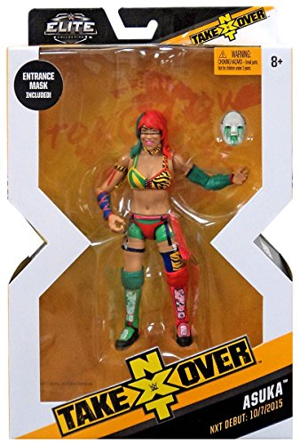 WWE Mattel NXT Takeover Elite Action Figure Asuka with Entrance Gear by Wrestling