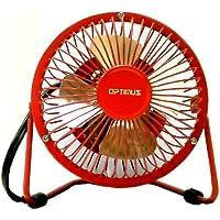 Optimus 4 Personal Metal Fan - Red