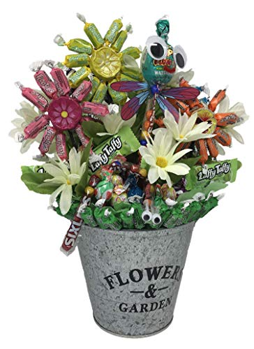 Flavorful and Bright Frooties Flower Garden, with Googly-Eyed Edible Crawlers sure to brighten somebody's day!