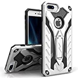 iPhone 7 Plus Case, Zizo [Static Series] Shockproof[Military Grade Drop Tested] w/ Built-in Kickstand [iPhone 7 Plus Heavy Duty Case] Impact Resistant (Accessory)