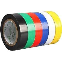 6 Stuks Elektrische PVC Tape, Waterdichte Elektrische Isolatietape, Elektrische PVC Tape, Het is Geschikt Voor…
