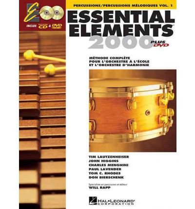 Essential Elements 2009 Percussion Book - [(French Essential Elements Ee2000 Percussion)] [Author: Hal Leonard Publishing Corporation] published on (August, 2009)