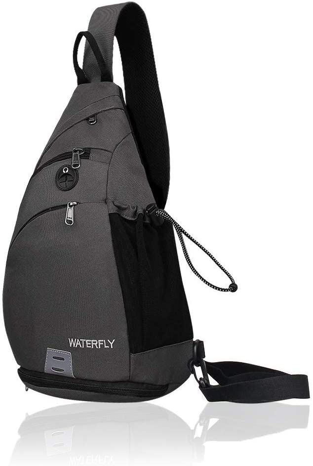 Waterfly Sling Backpack Sling Bag Small Crossbody Daypack Casual Backpack Chest Bag Rucksack