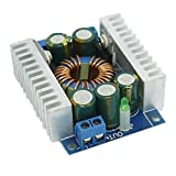 Yobett 12A/100W 4.5-30V to 0.8-30V DC Buck Volt Converter Step Down 12V Car Power Supply Voltage Regulator