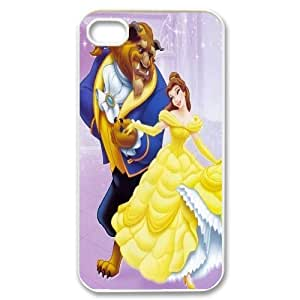 James-Bagg Phone case Beauty And The Beast Pattern Design Case For Iphone 4 4S case cover Style-6