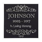 In Loving Memory Of Custom Name Memorial Personalized Grave Stone Marker | Granite Review