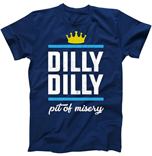 Dilly Dilly Pit of Misery T-Shirt Navy XL