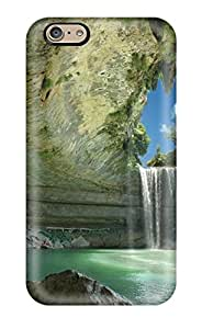 Hot Fashion PxEbDul6926ignRT Design Case Cover For Iphone 6 Protective Case (fantastic Waterfall )