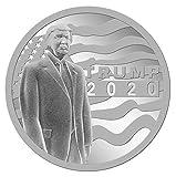 2020 Silver Donald Trump Private Mintage, 45th