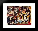Algerian women (Delacroix) 20x24 Framed Art Print by Picasso, Pablo