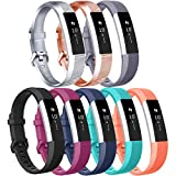 Tobfit Replacement Bands Compatible for Fitbit Alta HR Bands & Fitbit Alta Bands Small Large, 8 Pack