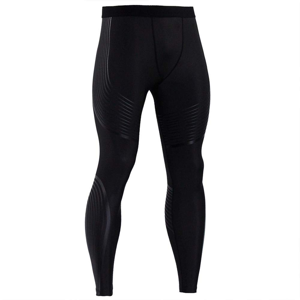 Allywit Mens Compression Pants Cool Dry Baselayer Tights Leggings