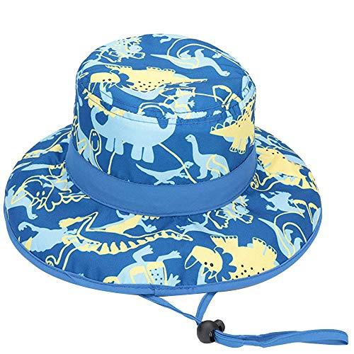 Hisharry Baby Toddler Kids Boy Girl Bucket Reversible Sun Protection Animal Hat - Brimmed Bucket Hat