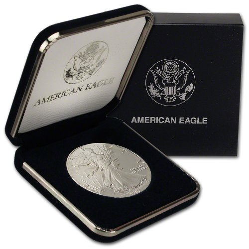 1987 American Silver Eagle $1 Gift Box U.S. Mint (1987 Coin)