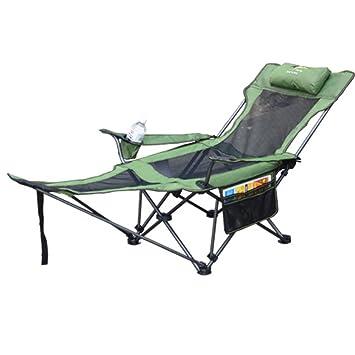 HM&DX Aire libre Sillas plegables Silla de camping con ...