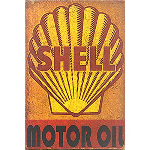 (Easy Painter Shell Oil Vintage Metal Sign, Gasoline Can Old Style Garage Bar, Man Cave, Tin Signs Funny, Retro Decorative Signs, Motor Oil,)