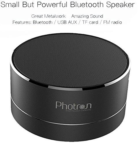 Photron P10 Wireless 3W Super Bass Mini Metal Aluminium Alloy Por