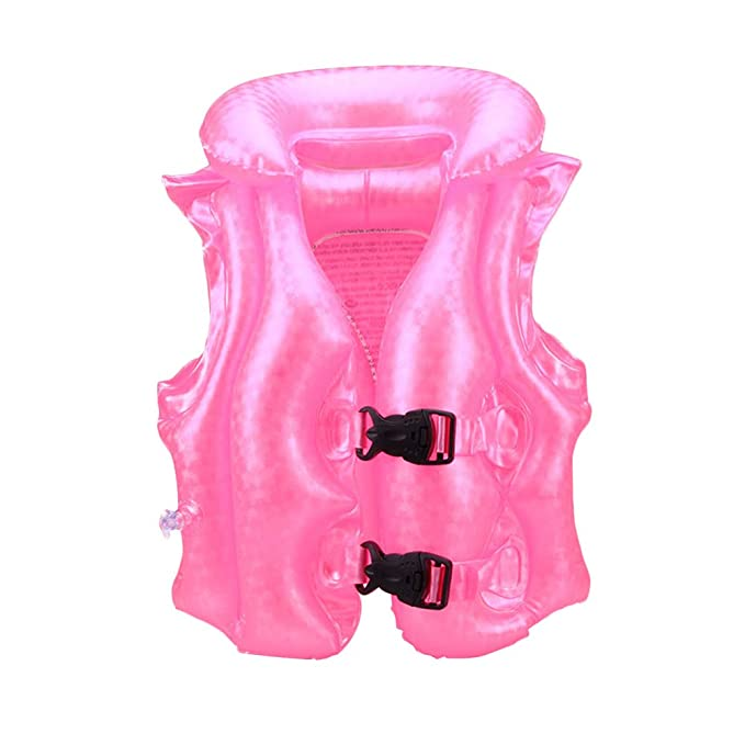 Amazon.com: Chaleco salvavidas de inflado de aire para niños ...