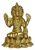 Brass Metal Brahma Medium Statue by Bharat Haat BH01481