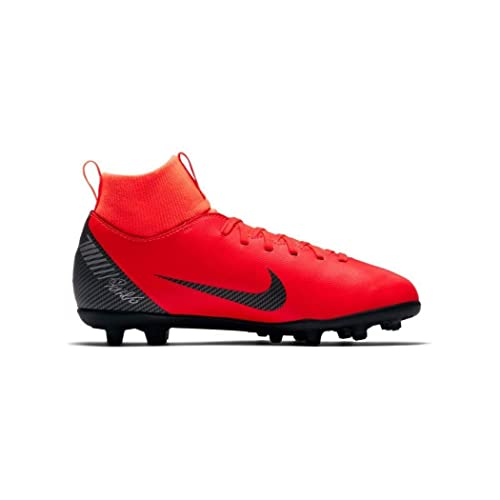 Botas de fútbol NIKE JR Superfly 6 Club CR7 FG/MG Junior (AJ3115 600): Amazon.es: Zapatos y complementos