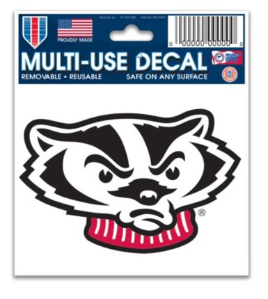 Ultra Ncaa Decal (NCAA University Wisconsin Badgers 3