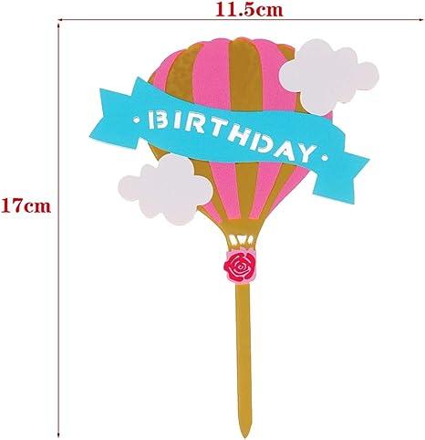Emoji Cupcake – 9 estilos coloridos acrílico Quot Happy Birthday ...