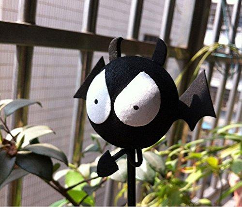 1Pcs Car Styling Roof Ornament Funny Cartoon Doll Antenna Balls Plush EVA Foam Aerial Toppers Decoration