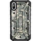 Limited Edition - Customized Designs by Ego Tactical Over a UAG- Urban Armor Gear Case for Apple iPhone X/Xs (5.8'')- Army ACU Digital Camouflage