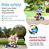 smarTrike Breeze Toddler Tricycle for 1,2,3 Year