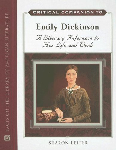 Handbook Dickinson Emily - Critical Companion to Emily Dickinson: A Literary Reference to Her Life and Work (Critical Companion (Hardcover))