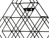 SEI Furniture Black Steel Wall Mount CD Rack