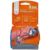 S.O.L. Survive Outdoors Longer Emergency Bivvy – 90% Heat Reflective, Waterproof, Lightweight Emergency Sleeping Bag, Personal Emergency Shelter, or Emergency Blanket