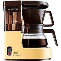 Melitta 1015Aromaboy 过滤器咖啡机,2杯,玻璃锅,自动 switch-off