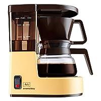 Melitta, Filterkaffeemaschine mit Glaskanne, Aromaboy, 2 Tassen-Glaskanne, Filtereinsatz