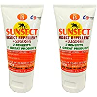 Sunsect Insect Repellent + Sunscreen 2 oz Tube (2 pack)