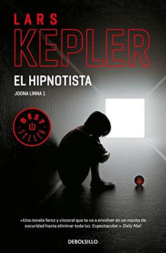 Portada del libro El hipnotista de Lars Kepler