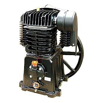 Rolair - pmp22bk119gr - 2-stage Splash - Lubricado Compresor De Aire Bomba con 45 ml capacidad del depósito de aceite: Amazon.es: Amazon.es
