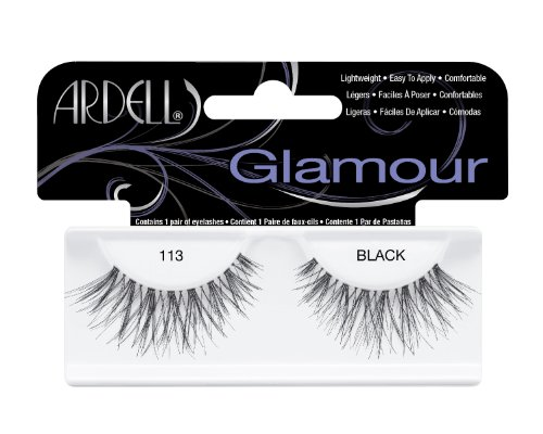 Ardell Fashion (Ardell Fashion Lashes Pair - 113 (Pack of 4))