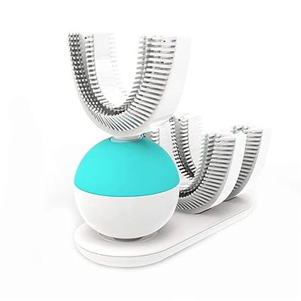 10 Segundos De Cepillo De Dientes Eléctrico Automático, Cargador USB Ultra Sonic 360 Grados U