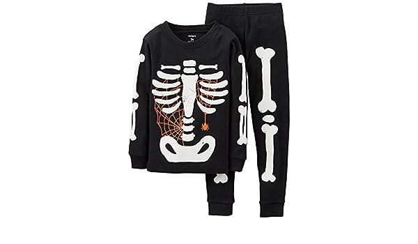 09a775d9c Carters Baby Boys Glowing Skeleton Pajama Set (12 mos
