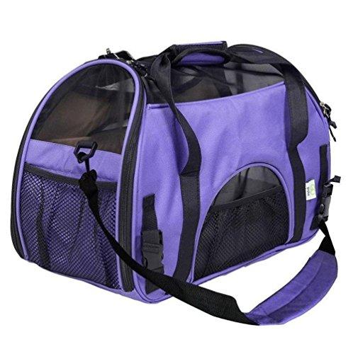 Mascotas Transportadora Perro de viaje Bolsa para mascotas portátiles Confort Perros transpirables para perros Casa para...