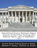 International Finance Discussion Papers, Michael P. Dooley, 128874689X
