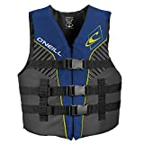 O'Neill Wetsuits Youth SuperLite USCG Life Vest,Pacific/Smoke,50-90 lbs