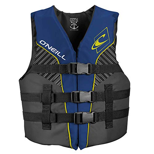 O'Neill Wetsuits  Youth SuperLite USCG Life Vest,Pacific/Smoke,50-90 lbs (Oneill Boys Ski Jacket)