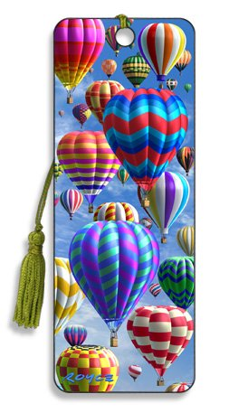 Artgame - Hot Air - 3D Bookmark from Artgame