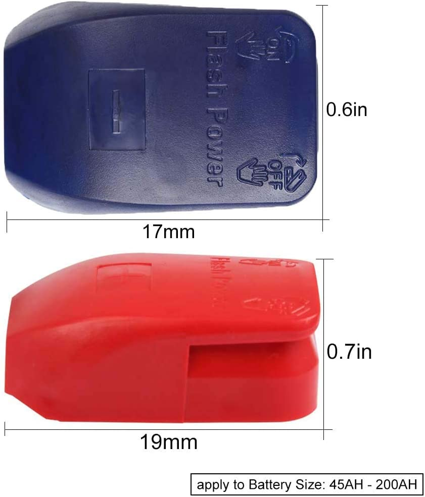 4Pcs Auto Batterieclips Schnellverbinder Schnellverschluss Anschlussklemme Batterieklemmens Batterie Polklemme 12v Batterieklemmen Boot