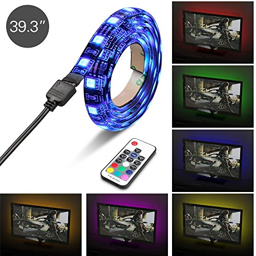 game room lighting. Topist USB TV LED Light RGB 5050 60 LEDs Neon Accent Lighting System Kit Flexible Adhesive Tape MultiColor Changing With RF Wireless Remote For Game Room