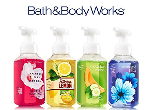 Bath & Body Works 4-Pack Gentle Foaming Hand Soap FAVORITE FRAGRANCES Melon Foaming Soap