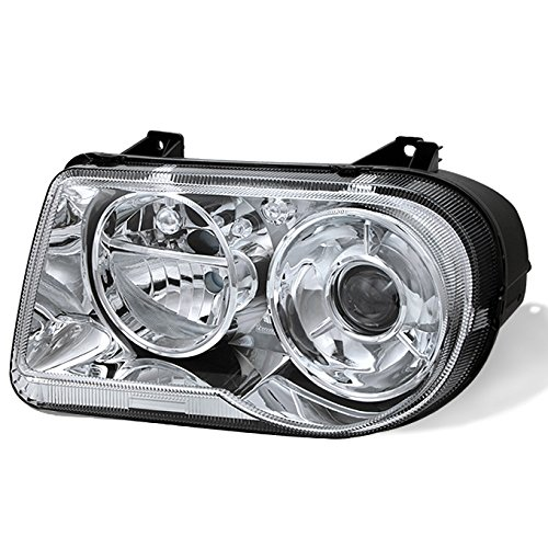 For 05-10 Chrysler 300C Chrome Clear Headlight Front Lamp Passenger Right Side Direct Replacement New